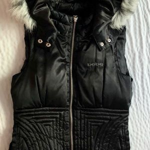 Babe Hooded Vest ( Size S)